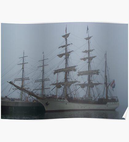 Atlantic Fog Poster
