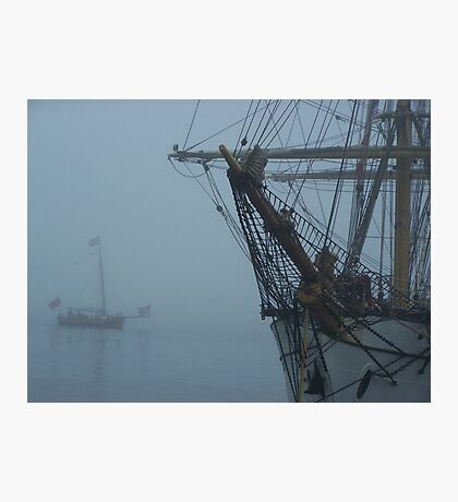 Through The Mist Photographic Print