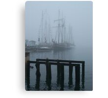 Silent Auction Canvas Print