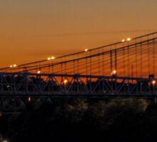 Suspension Bridge Sticker