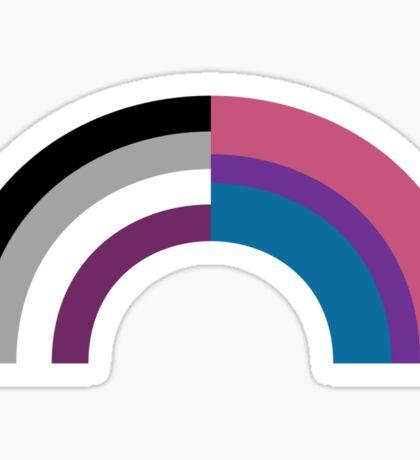 Bi-asexual Sticker
