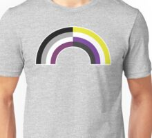 Non-Binary Asexual Rainbow Unisex T-Shirt