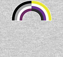 Non-Binary Asexual Rainbow Unisex T-Shirt