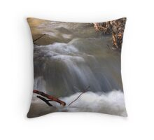 Snowmelt Creek 2 Throw Pillow