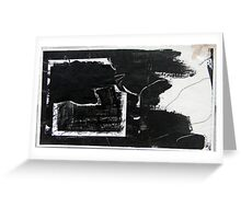 b(l)ack in halifax Greeting Card