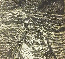 Peter Took His Eye Off Of Jesus And Started To Sink by Stephen  J. Vattimo