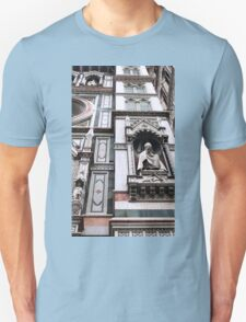 The Facade of St. Mary's Cathedral, Florence Unisex T-Shirt