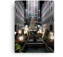 Christmas in New York Canvas Print