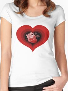 Delicious Valentine Women's Fitted Scoop T-Shirt