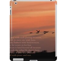 Day by Day iPad Case/Skin