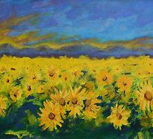 Field of Sunflowers 2011 by piotrart