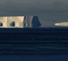 Iceberg Mirage by Doug Thost
