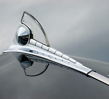 1950 FORD HOOD ORNAMENT by Elaine Bawden