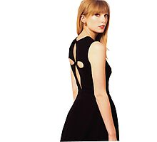 Taylor Swift in Casual Photographic Print