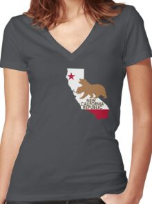 NCR Women's Fitted V-Neck T-Shirt