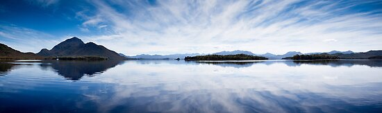 Bathurst Harbour, south-west Tasmania by Doug Thost
