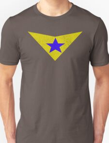 Distressed Booster Gold Logo T-Shirt