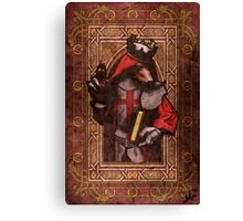 Crusade Werewolf Canvas Print