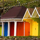The Beach Huts by TREVOR34