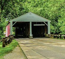 Ramp Creek Covered Bridge by Mary Carol Story