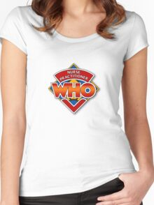Nurse Practitioner Who Women's Fitted Scoop T-Shirt