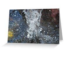 Water Splash - Forster, NSW. Greeting Card