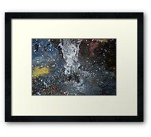 Water Splash- Forster, NSW. Framed Print