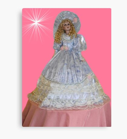 ¸.•*´♥`*•. Cute Doll ¸.•*´♥`*•. Canvas Print