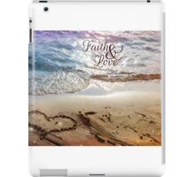 Faith and Love iPad Case/Skin