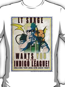 Lt. Surge Wants You! T-Shirt