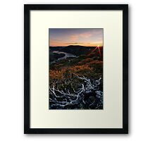 Cradle Dawn Vista Framed Print