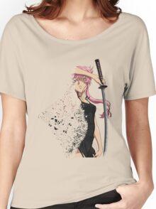 future diary mirai nikki yuno gasai disintegration anime manga shirt Women's Relaxed Fit T-Shirt