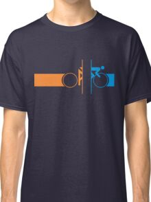 Bike Stripes Portal Classic T-Shirt