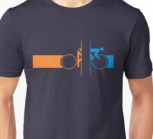 Bike Stripes Portal Unisex T-Shirt