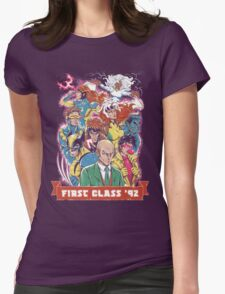FIRST CLASS 92 Womens Fitted T-Shirt