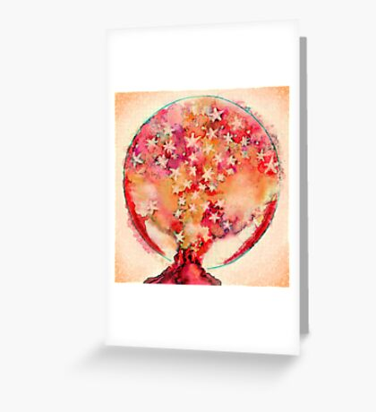 Containing stars  Greeting Card