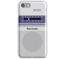 Transistor Radio - 70's Hobbyist iPhone Case/Skin
