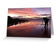 Photographers Reflection Greeting Card