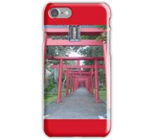 Gates in Sapporo iPhone Case/Skin