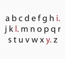 Alphabet Love by Meskell