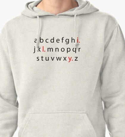 Alphabet Love Pullover Hoodie