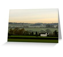 Chicheley Hill  Buckinghamshire  UK Greeting Card