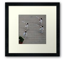 Out of Step Framed Print