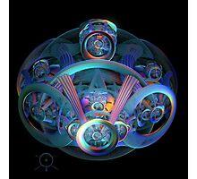 Alien Time Machine Photographic Print