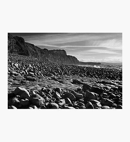 Quantoxhead Rock Shelves Photographic Print