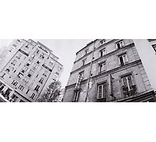 Paris Hotel and Buildings Photographic Print