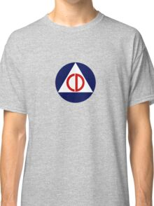 Civil Defense Emblem Classic T-Shirt