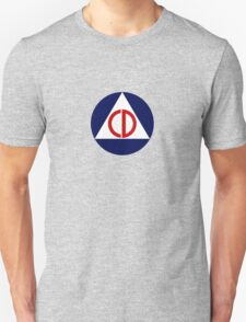 Civil Defense Emblem T-Shirt