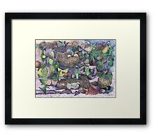 Idle Conversation Framed Print