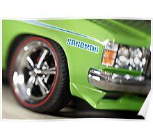 Green Holden Sandman Poster